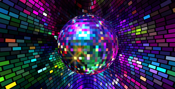 Colors Disco Ball